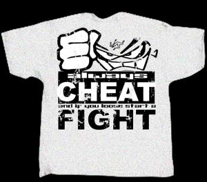 Bent - Cheat/Fight X-Large T-shirt